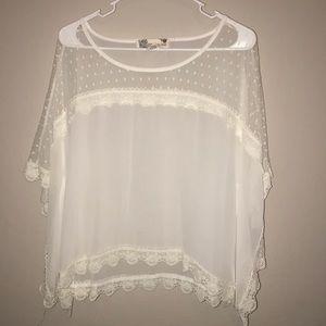 Blusa Blanca, queda espectacular